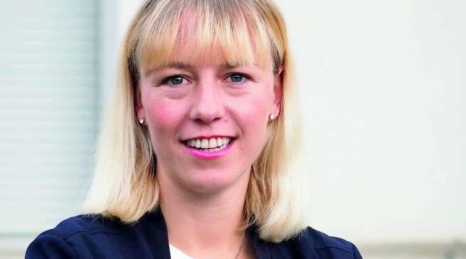 Neue Produktmanagerin für die Fokusproduktgruppe Mikrowelle: Helene Tausch.