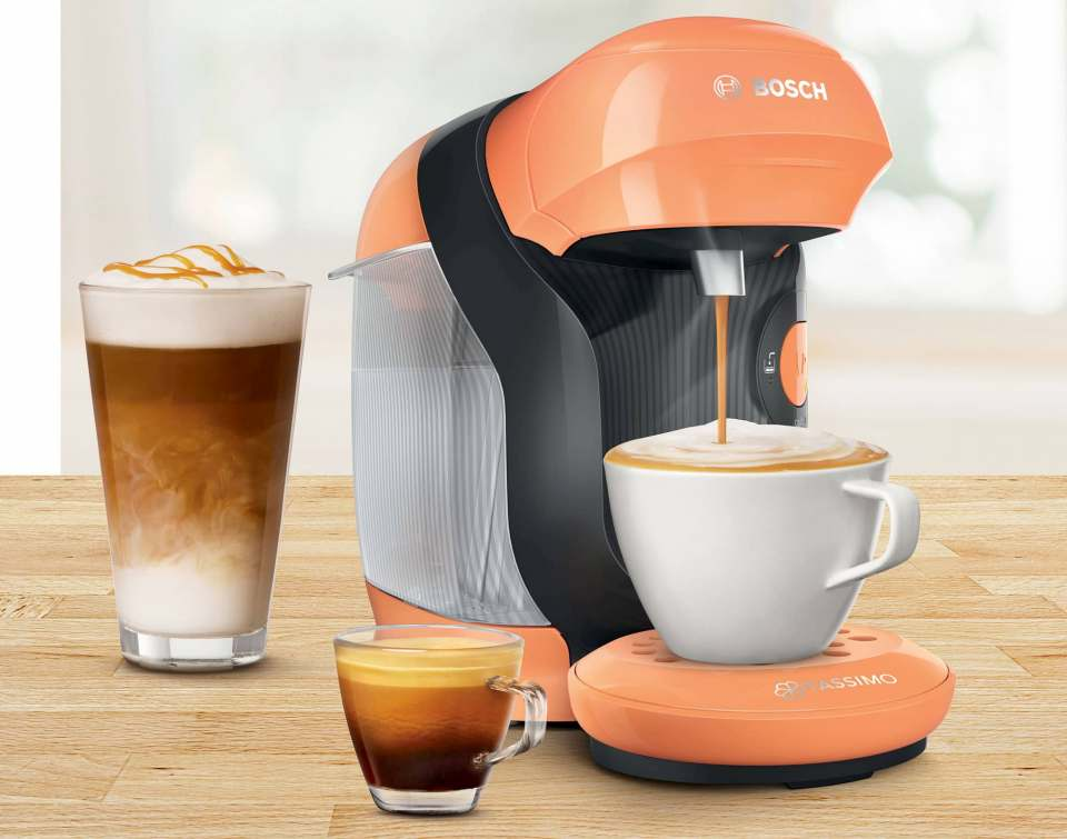 Bereitet über 70 Getränkesorten auf Knopfdruck: Bosch Tassimo Style.