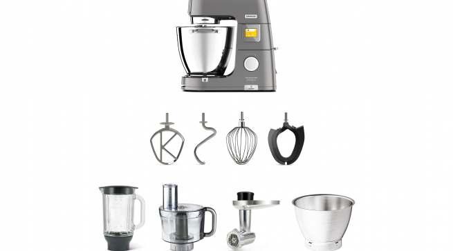 Eine große Auswahl an optionalen Zubehörteilen bietet über 1.000 Zubereitungsmöglichkeiten.