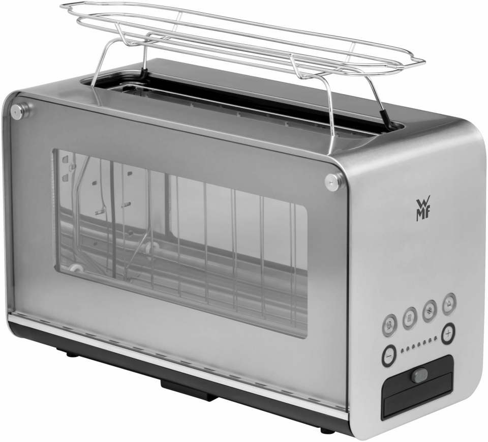 Ohne Beanstandungen und mit Testnote 1,0: WMF Lono Glas-Toaster.