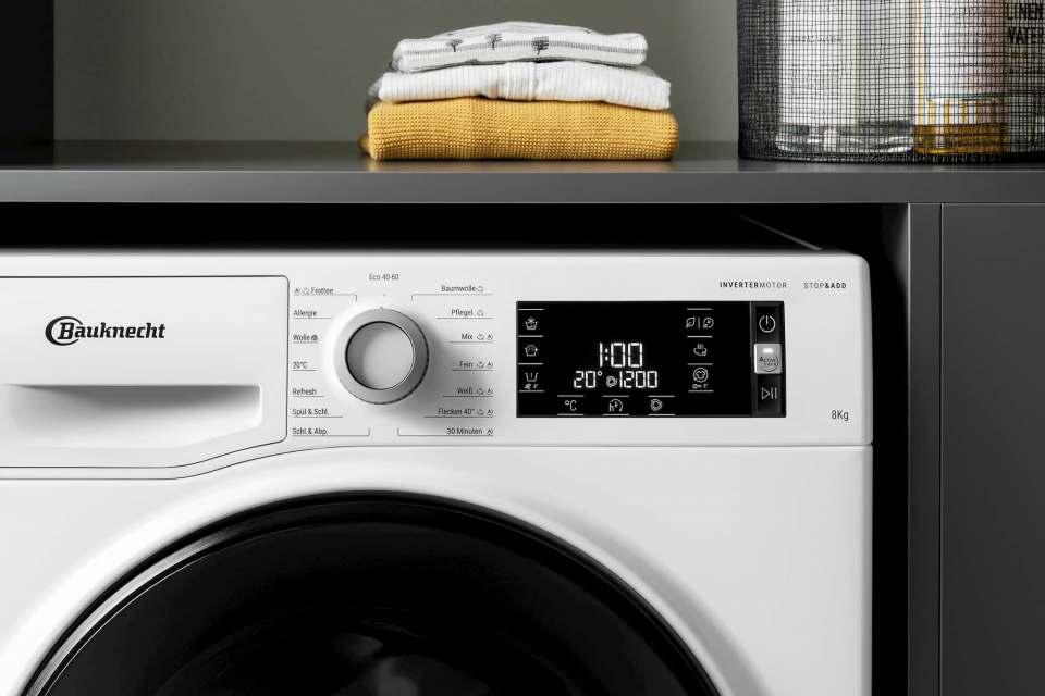 Bauknecht unterstützt den Abverkauf der neuen Active Care Color+ Waschmaschinen durch ein vielfältiges Kommunikationspaket für den Fachhandel.
