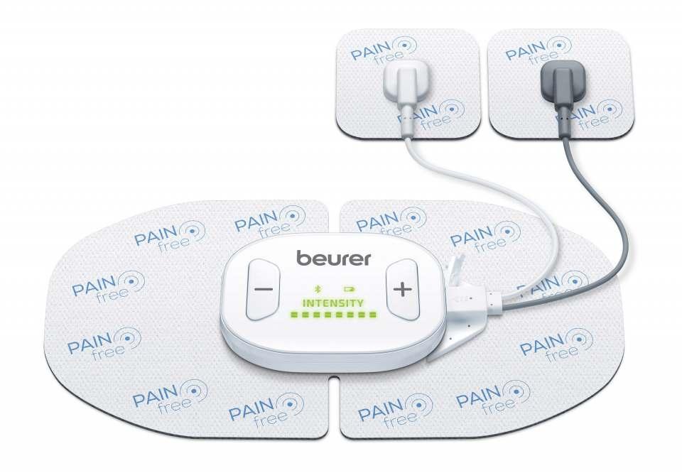 Beurer TENS/EMS EM 70 Wireless mit Steuereinheit.