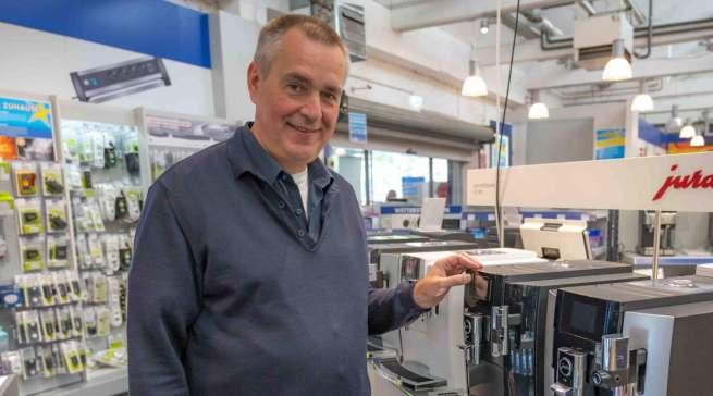 Dirk Wittmer, Geschäftsführer Euronics XXL Johann + Wittmer, Ratingen
