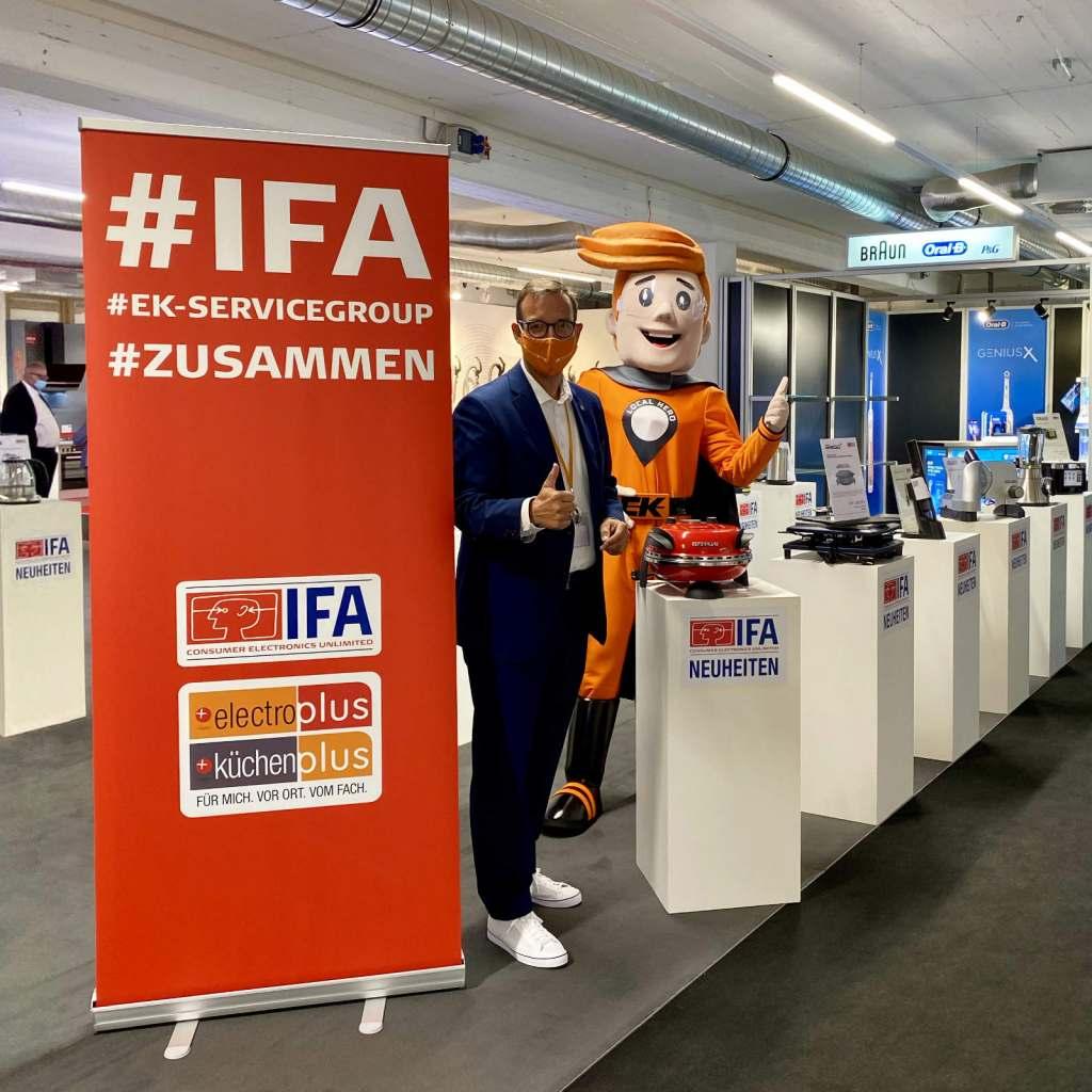 Fast schon kurios: Bielefeld zeigte mehr IFA-Neuheiten, als es in Berlin zu sehen gab.
