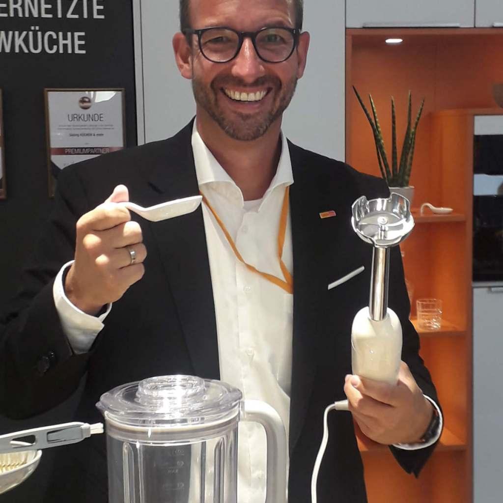 Martin Wolf, Leitung Vertrieb und Marketing Elektro/Küche/Licht der EK/servicegroup.