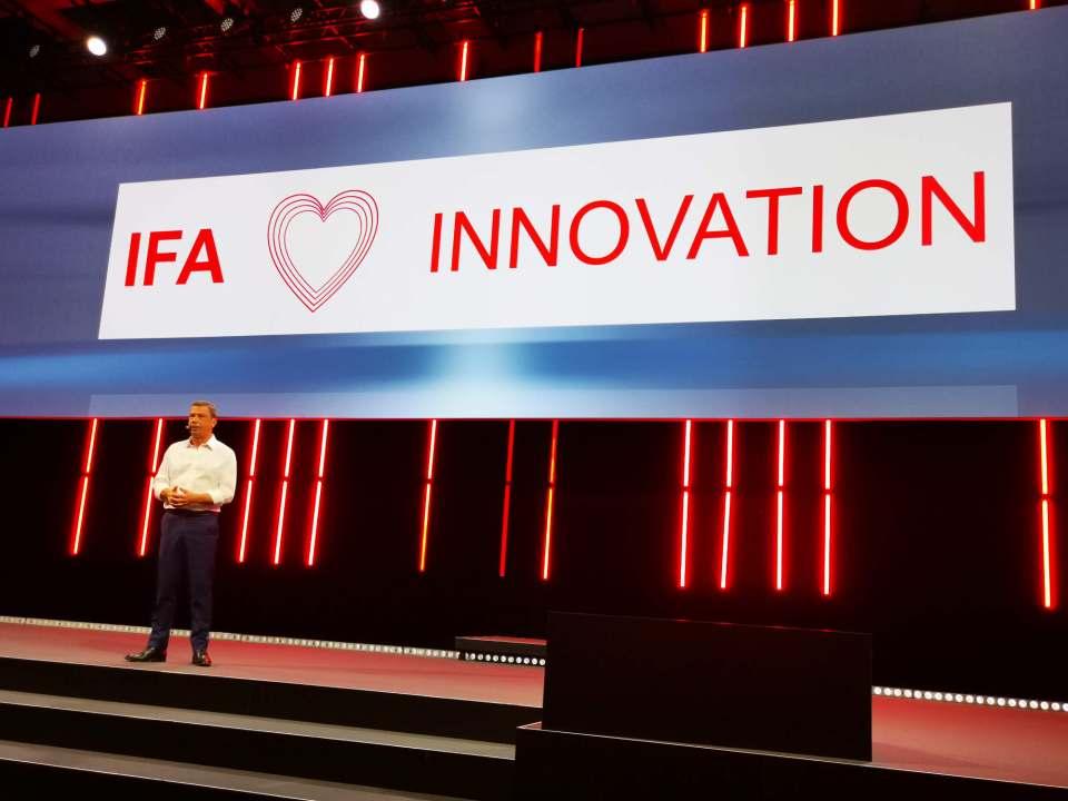 Erleichtert und mit Vorfreude auf eine bereits jetzt schon gut gebuchte IFA 2021: Executive IFA Director Jens Heithecker.