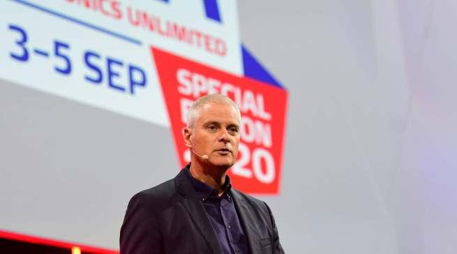 Premiere in Berlin: Kai Hillebrandt hatte in seiner Funktion als neuer Aufsichtsratsvorsitzender der gfu seinen ersten großen öffentlichen Auftritt.