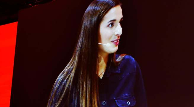 Food-Youtuberin Saliha Özcan, bei 1,7 Millionen Followern besser bekannt unter dem Namen Sally