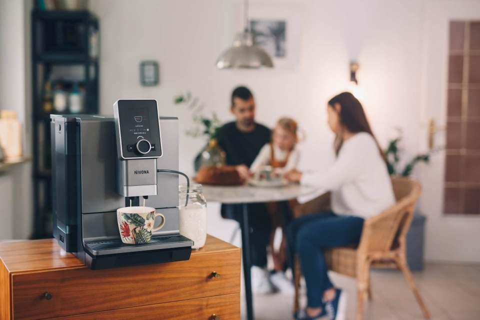 Genussverstärker für daheim: der neue Kaffeevollautomat NICR 930 von Nivona.