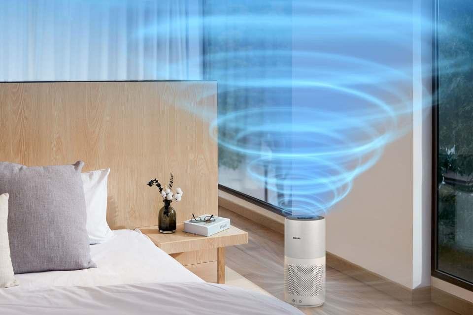 Philips Luftreiniger 2000 mit Steuerung über App.