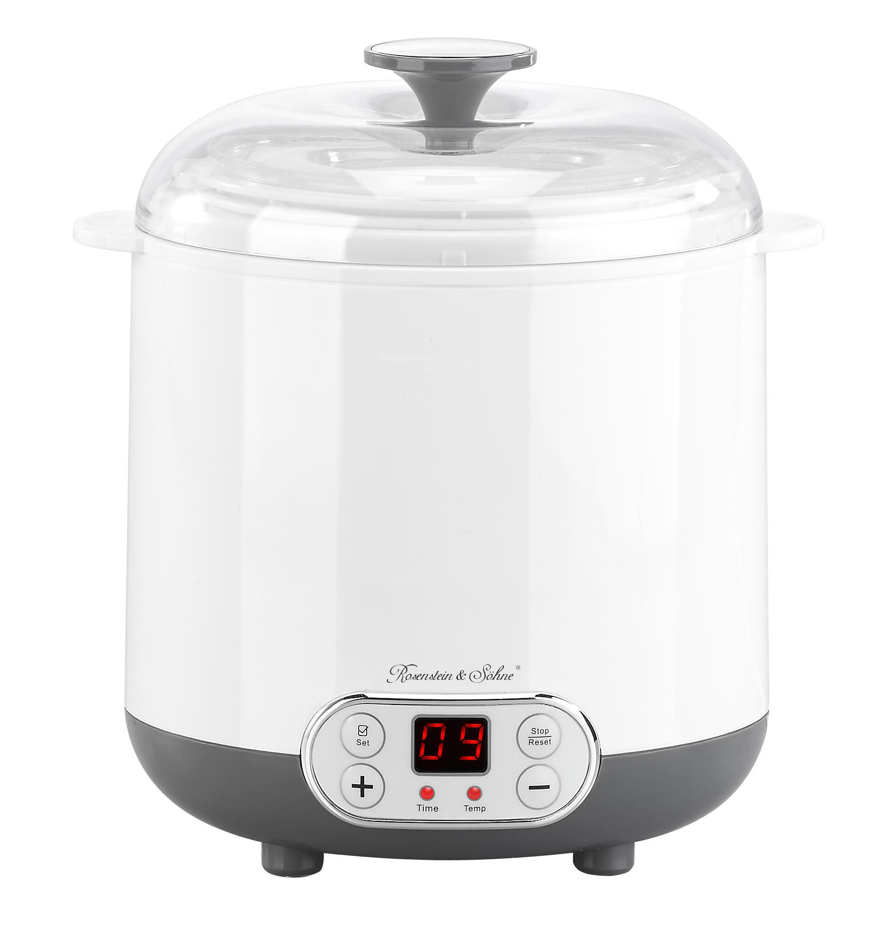 <h1>Rosenstein & Söhne Joghurt-Maker JM-200</h1><h3 style='font-size: 20px; margin: 0px 0px 15px 0px;'>Joghurt ohne Zusatzstoffe, Zubereitung von Reiswein</h3>