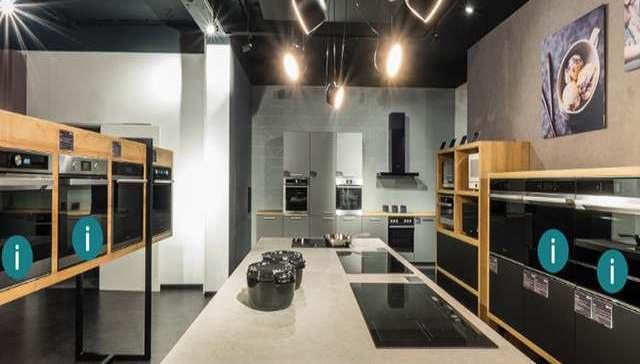 Digital bestens aufgestellt: der neue virtuelle Showroom von Whirlpool.