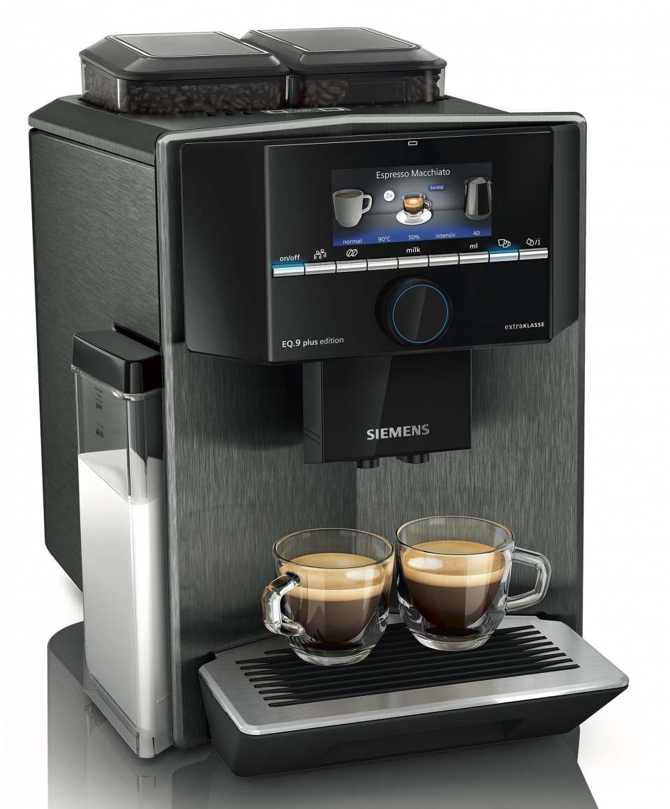 Siemens Kaffeevollautomat EQ.9 plus connect s700 mit neuen Farben.