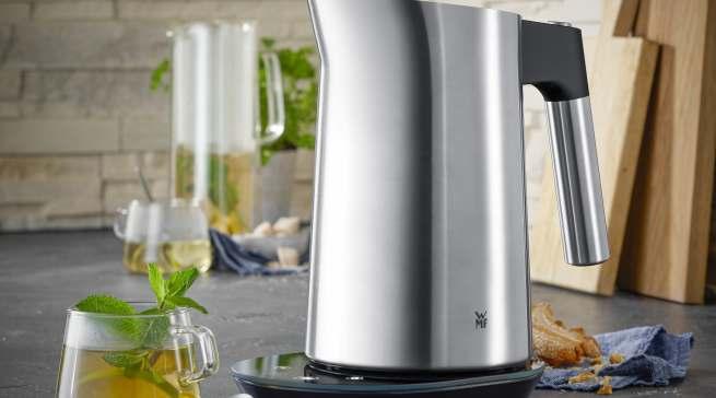 WMF Wasserkocher Kineo Vario 1,6 l aus Cromargan.