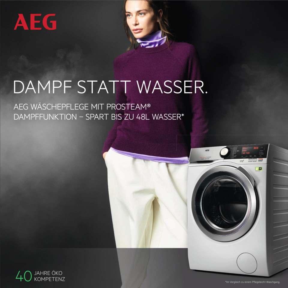 AEG Wäschepflege-Kampagne mit über 86 Millionen Kontakten.