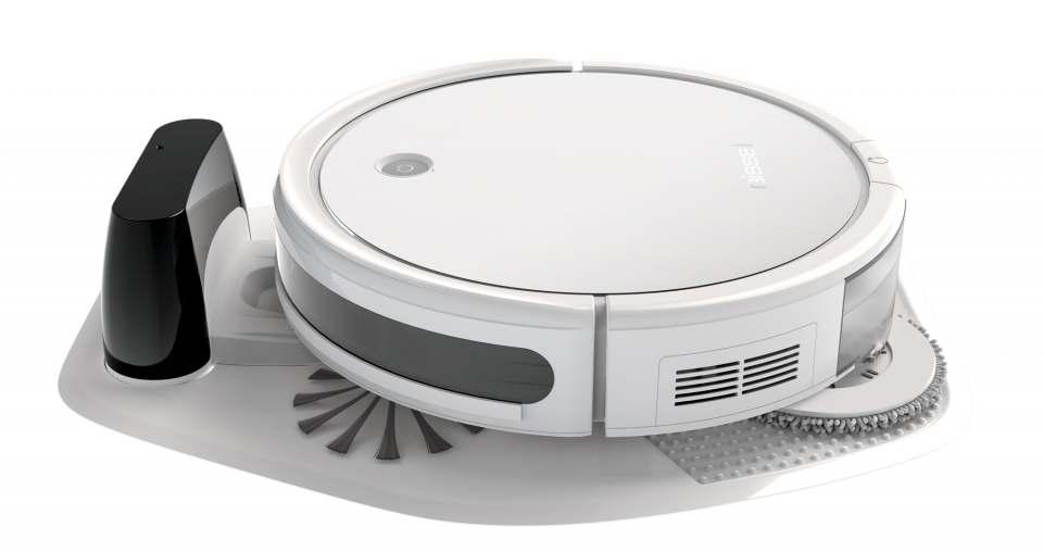 Bissell Staubsauger-Roboter SpinWave mit Gyroskop-Technologie.