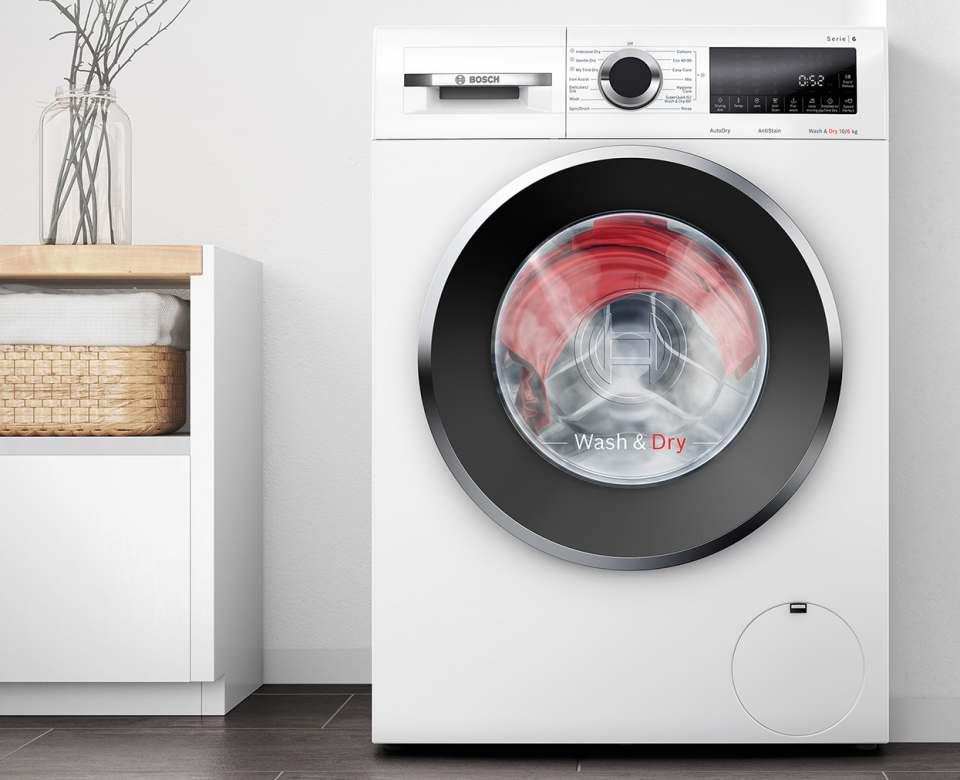 Bosch Waschtrockner Serie 6 mit HygieneCare.