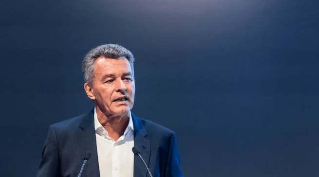 """""""Viele Unternehmen erhoffen sich vom Messeauftritt einen Anschub ihrer Geschäfte nach dem Re-Start"""", Detlef Braun, Geschäftsführer der Messe Frankfurt."""
