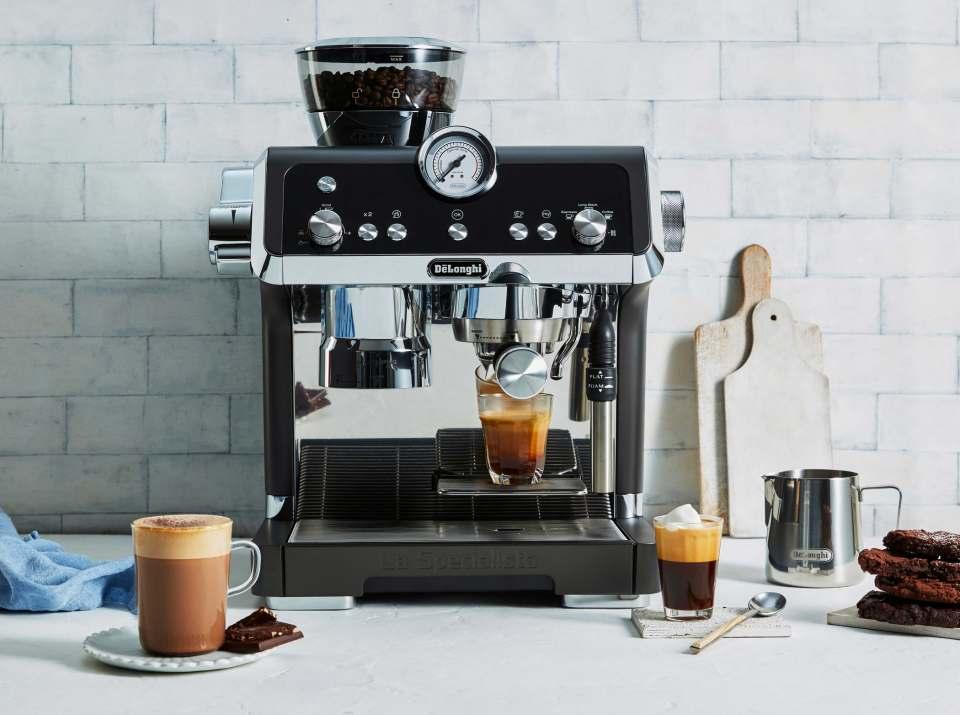 De'Longhi Espressomaschine La Specialista in neuen Farben.