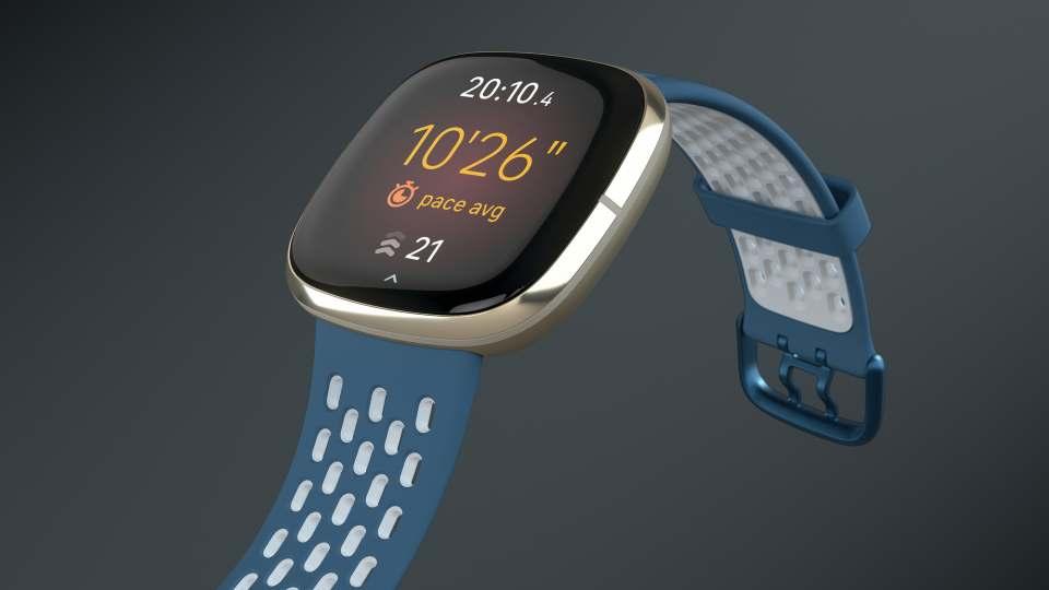 Fitbit Fitness-Uhr Sense ist eine Health-Smartwatch.