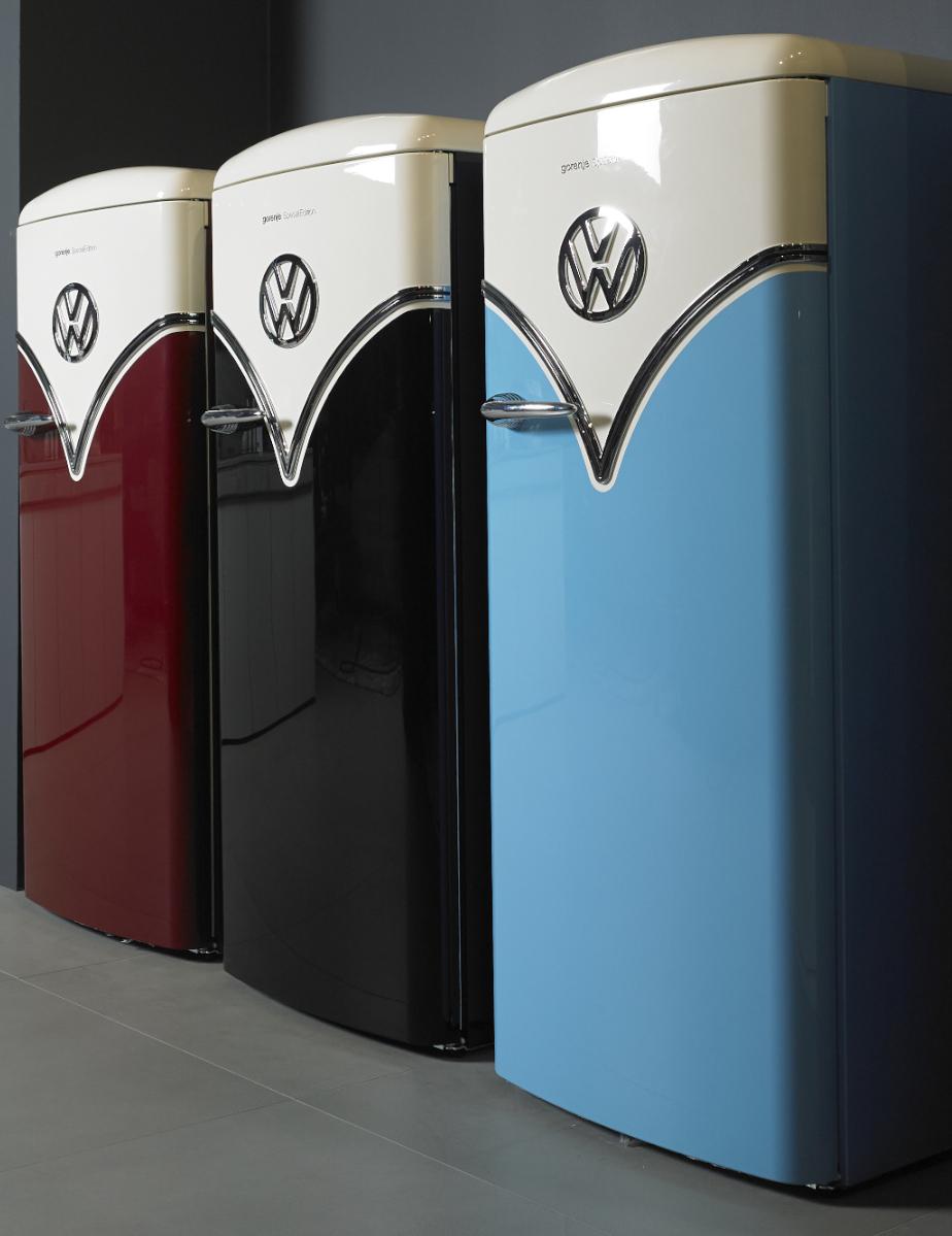 Gorenje Kühlschrank VW Retro mit CrispZone.