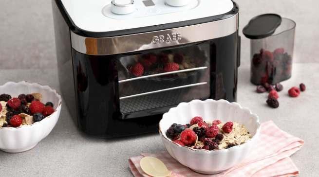 Kompakter Blickfang in der Küche: Mini-Dörrautomat DA 2042.