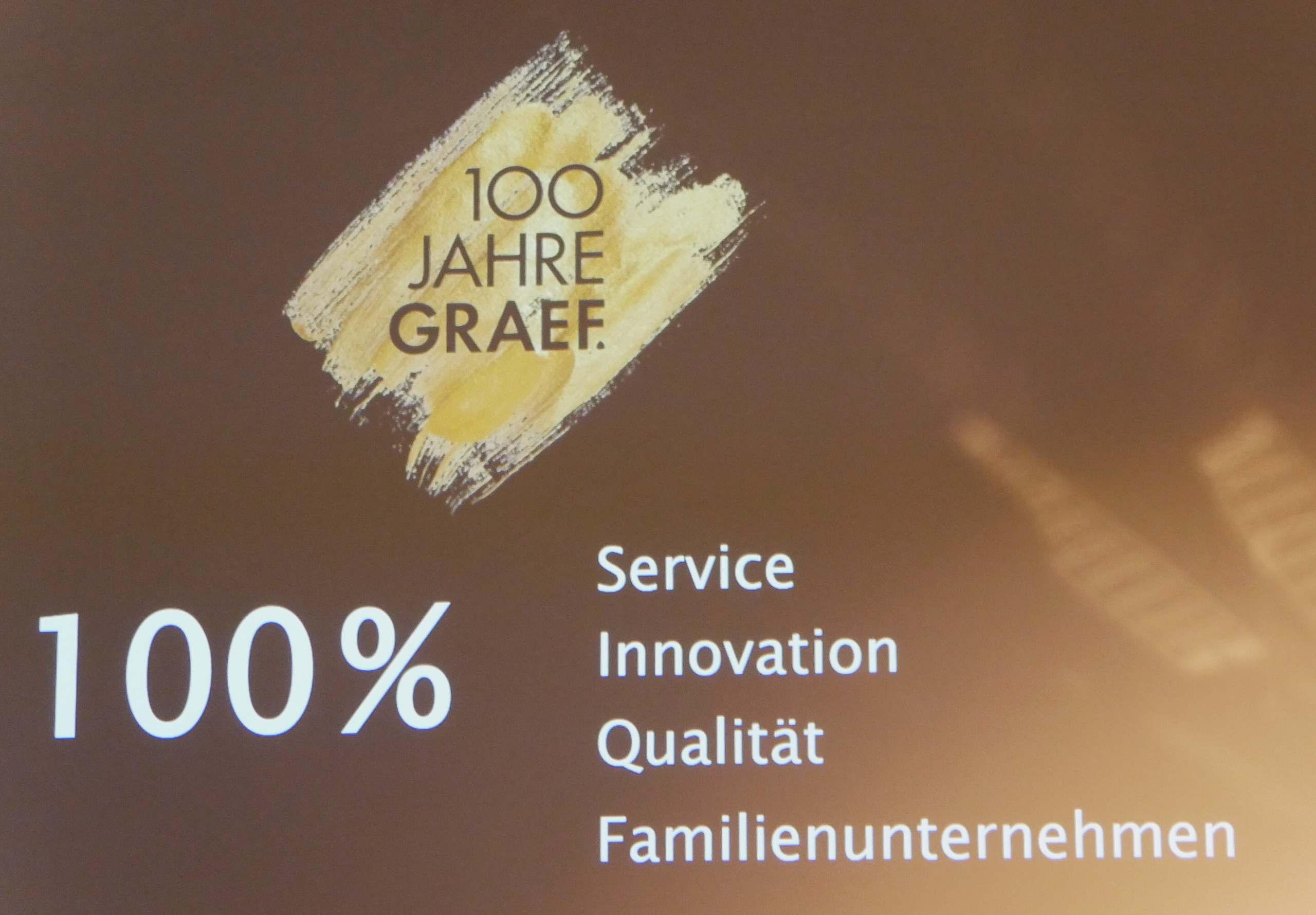 100 Jahre Graef Logo