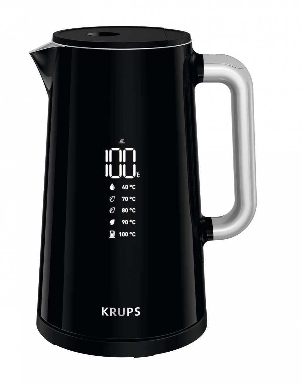 Krups Wasserkocher Smart'n Light mit Doppel-Isolierung Cool Touch.