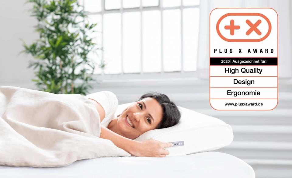 Ausgezeichnete Einschlafhilfe: Medisana SleepWell Kissen SP 100.