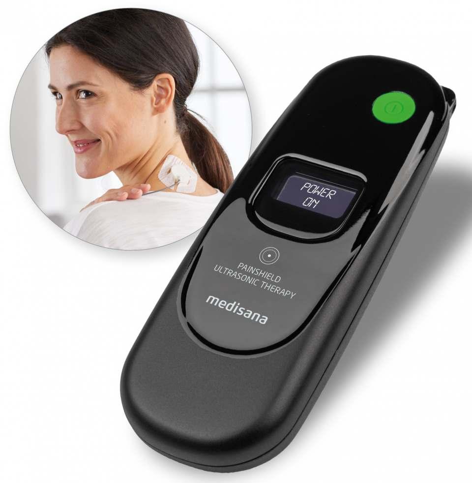 Medisana PainShield PT 100 ist ein tragbares, therapeutisches Ultraschallgerät.
