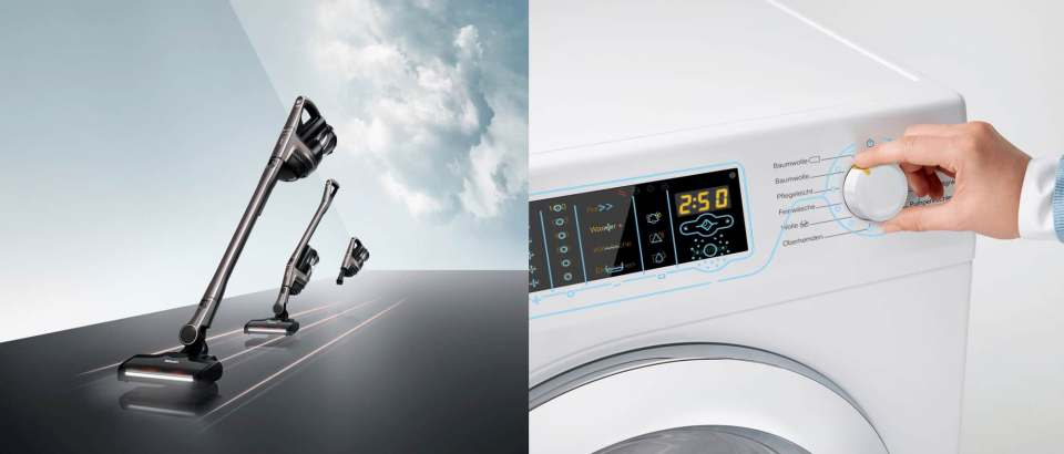 Gewinnen den Focus Open Award: Miele Akku-Handstaubsauger Triflex HX1 und die GuideLine Waschmaschine.