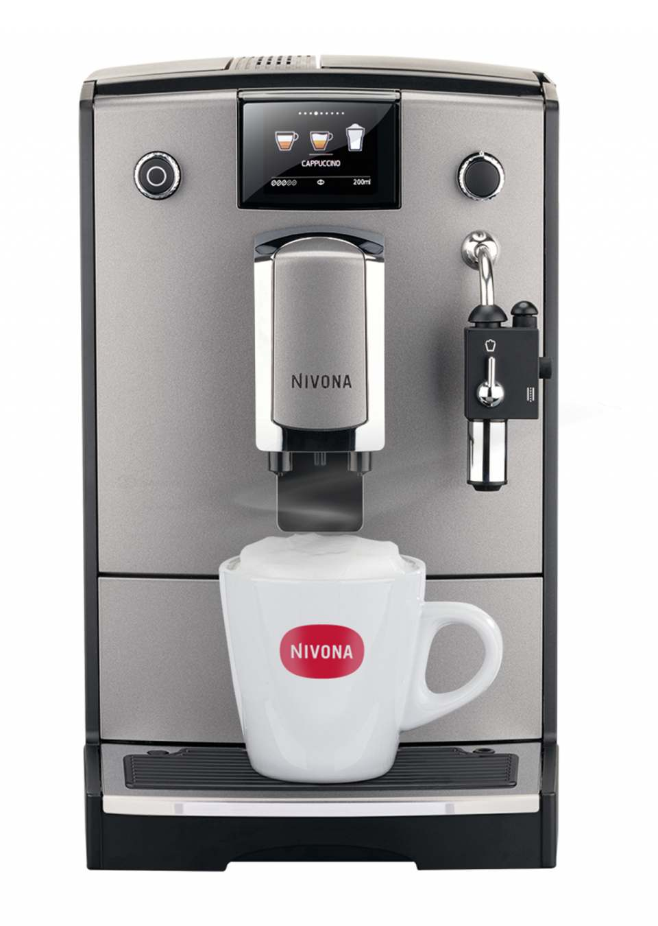 Nivona Kaffeevollautomat NICR 675 mit Aromatica System.