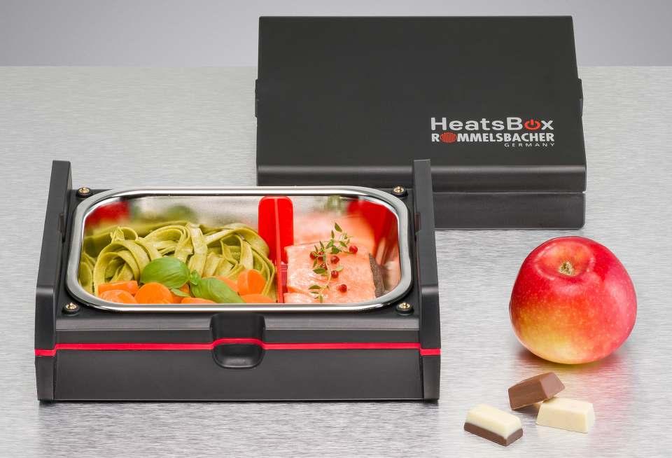 Rommelsbacher HeatsBox HB 100 mit Wärmefunktion.