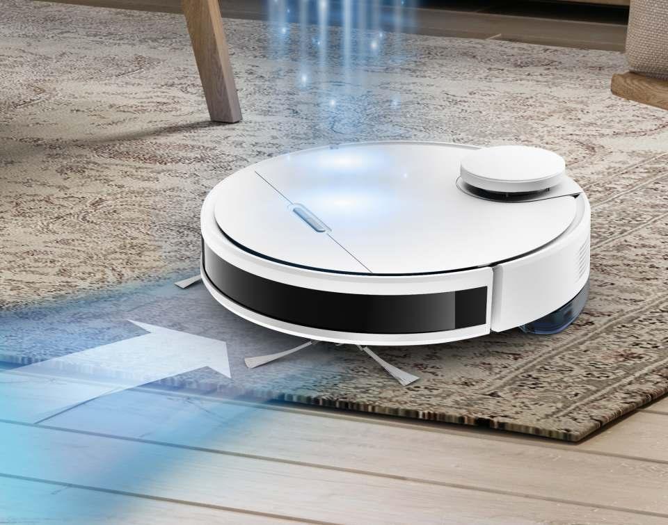 Rowenta Staubsauger-Roboter Xplorer Serie 95 mit Personalisierung.