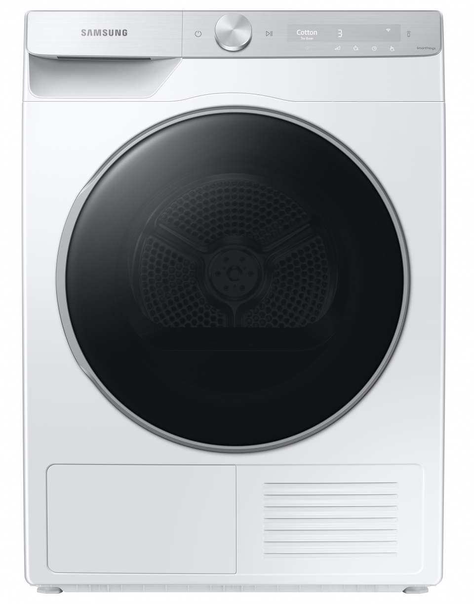 Samsung Wäschetrockner DV8000T mit OptimalDry.