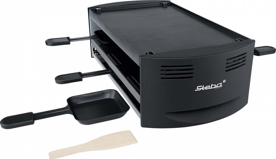 Steba Pizza-Raclette RC 6 Bake & Grill mit Pizza-Funktion.