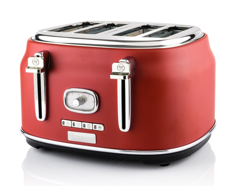 Westinghouse Toaster Retroline mit Brotlift.