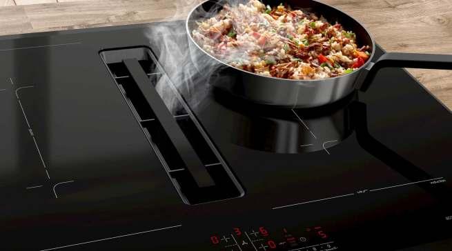 Bosch Serie | 8 Kochfeld mit Dunstabzug
