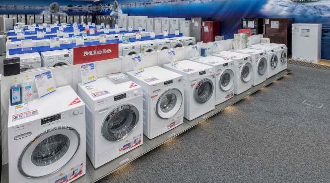 Ob Waschen oder Kühlen: das Angebot punktet mit großer Sortimentstiefe.