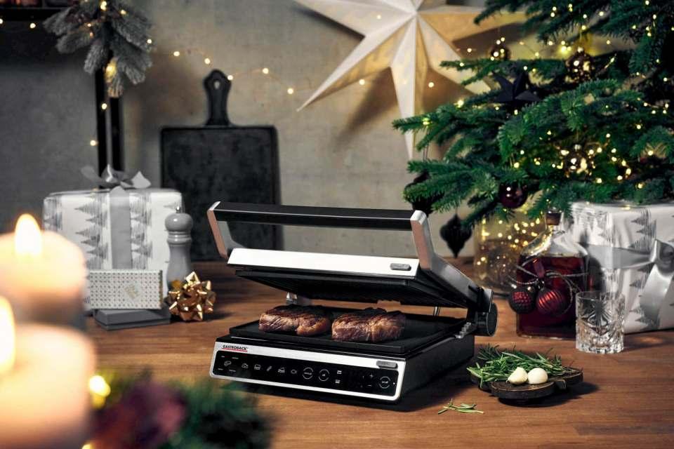 Eine heiße Geschenkidee: Gastroback Grill Design BBQ Advanced Smart.