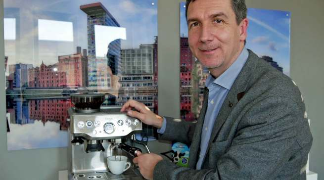 """""""Die starke Nutzung der Home-Office-Möglichkeiten sind ein Treiber für das starke Wachstum"""", Gerd Holl, Geschäftsführer Sage Appliances."""
