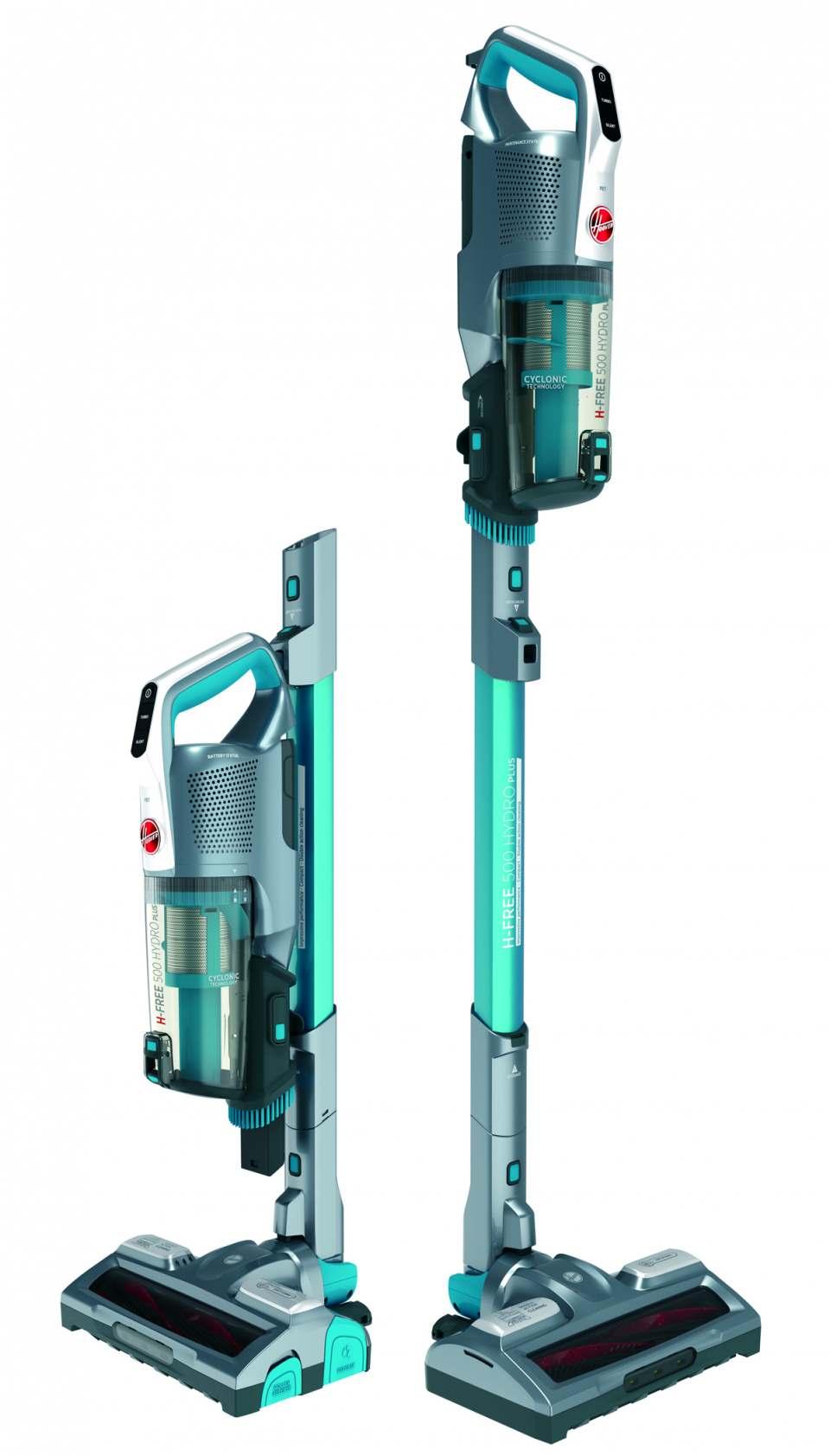 Hoover Staubsauger H-Free 500 Hydro Plus zum Saugen und Wischen.