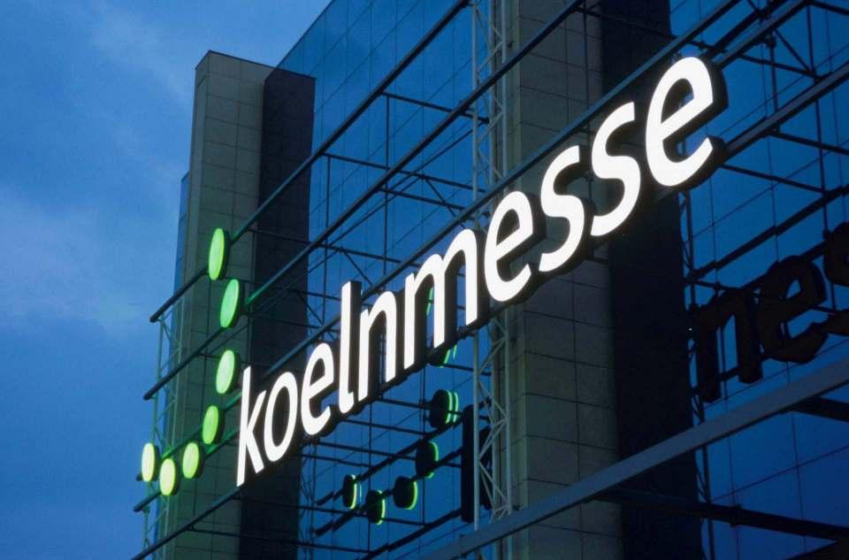Die Messehallen bleiben dunkel: Keine imm im Januar 2021 in Köln. Foto: Kölnmesse