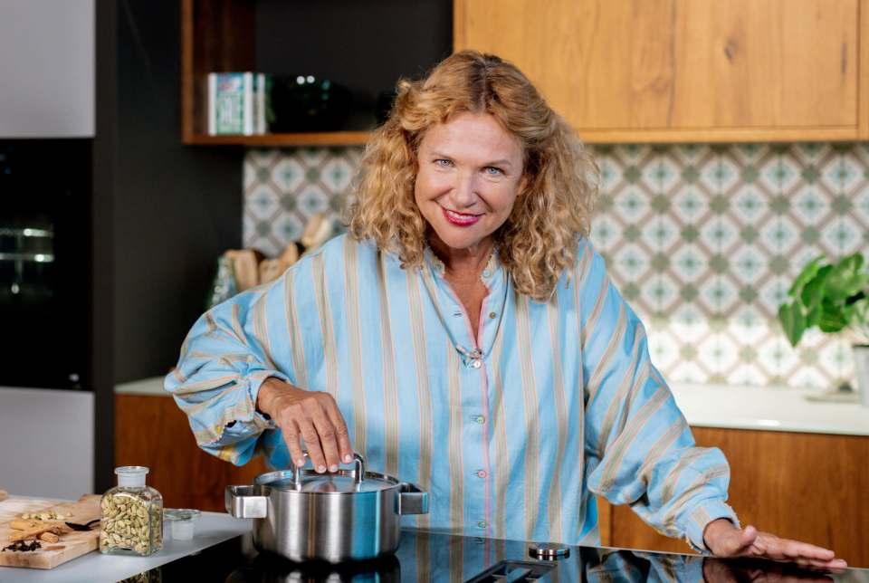 Vollblut-Gastronomin und Genussbotschafterin für Neff: Haya Molcho.
