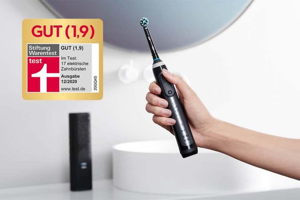 Beste Zahnbürste unter den neuen Bürsten: Oral-B Genius X 20000N.