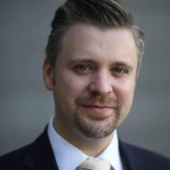 Volker Irle, Geschäftsführer AMK ist zufrieden mit der kuechenherbst.online und freut sich auf die Messen im nächsten Jahr.