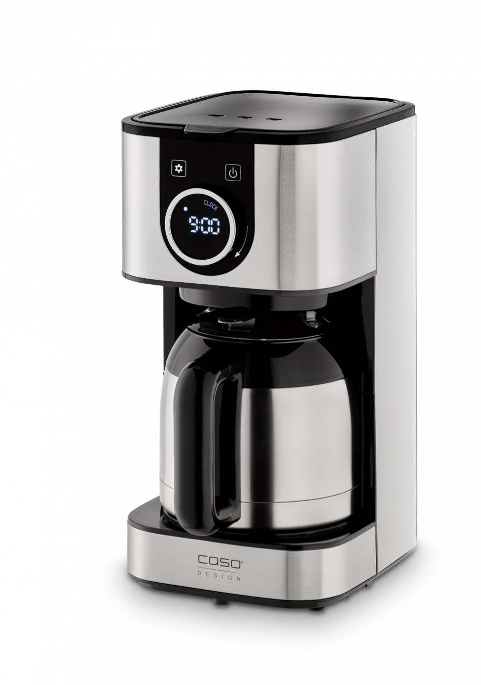 Caso Design Kaffeemaschine Selection C10 Thermo mit Isolierkanne.