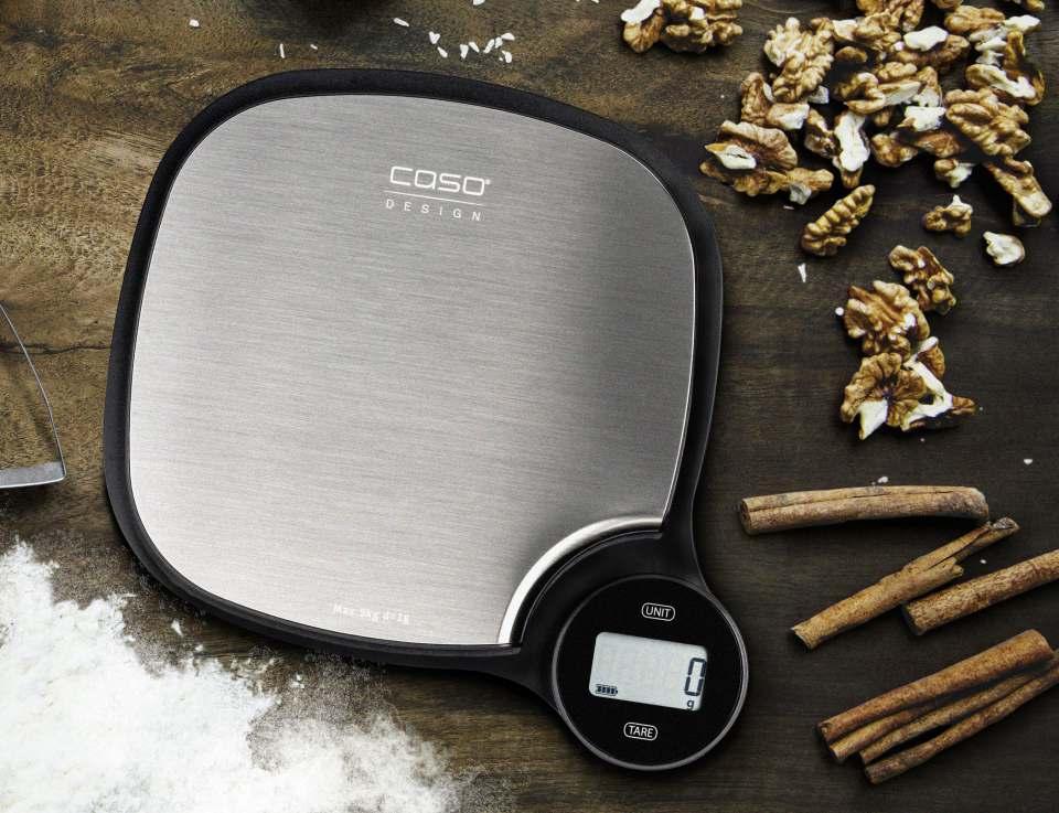 Caso Design Küchenwaage EcoMaster mit Energy-Wheel.