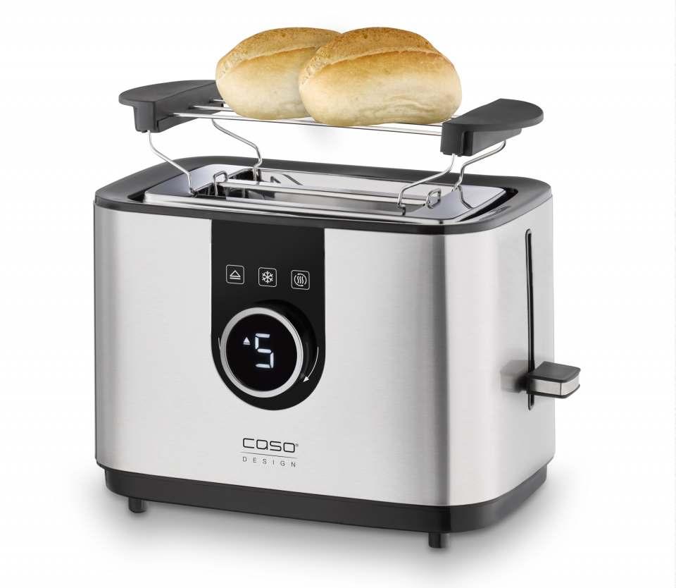 Caso Design Toaster Selection T2 mit 7 Bräunungsstufen.