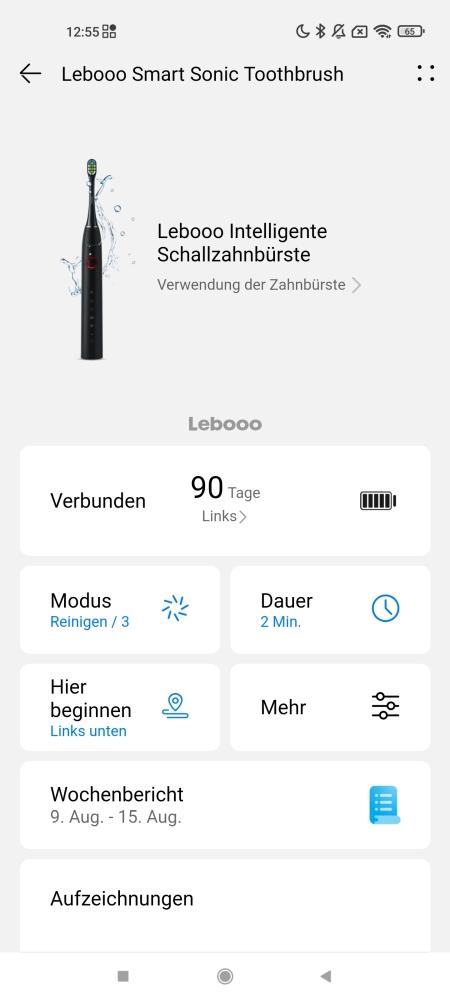 Huawei Lebooo Smart Sonic Zahnbürste